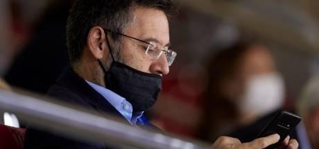 Le président du Barça Josep Bartomeu pourrait jeter l'éponge ce lundi