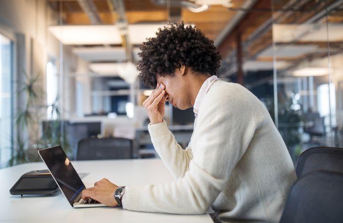 Terugkeer naar de werkvloer verhoogt het stressniveau.