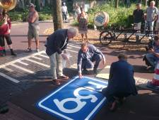 Toch geen rood asfalt op Dorpstraat Geffen; klinkers keren terug