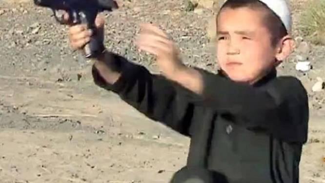 Vijfjarigen worden opgeleid in terreurkampen van taliban