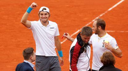 Duitsland wint dubbelspel en zet Spanje onder druk in Davis Cup - Kroatië aan de leiding tegen Kazachstan