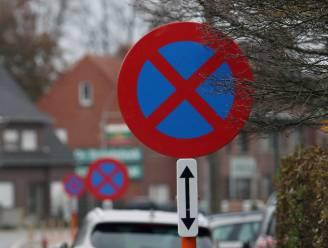 Parkeerverbod door onderhoudswerken De Warande