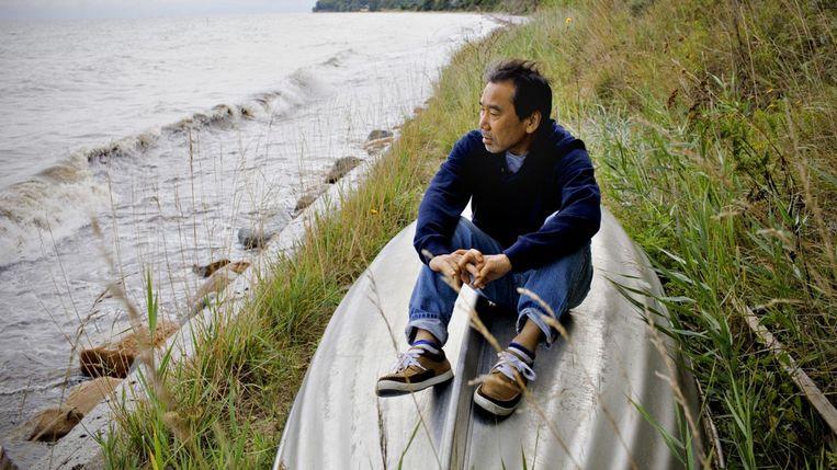 De Japanse tovenaar Haruki Murakami, is al jaren favoriet voor Literatuur. Beeld rv