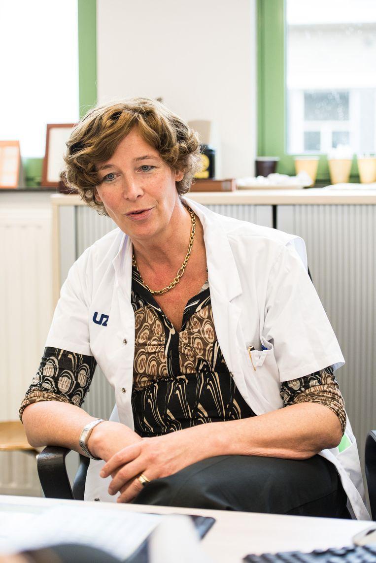Petra De Sutter. Beeld Photo News