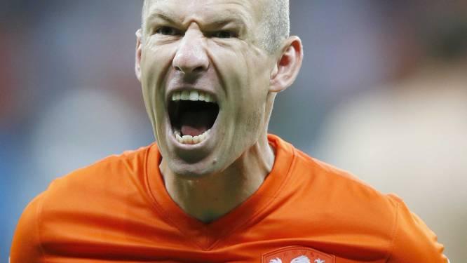 """Arjen Robben: """"Ik heb me in 2014 geweldig vermaakt"""""""