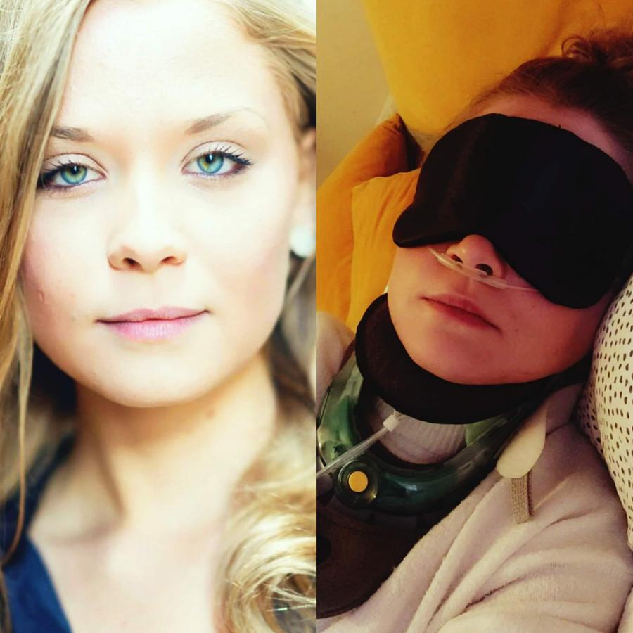 Marleen in goede en slechte doen. De 26-jarige Zutphense weet nog steeds niet wanneer ze in Barcelona geopereerd kan worden.