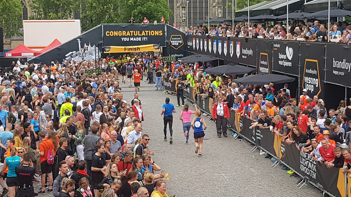 Het was zondag flink druk op de Parade van 'sportief' Den Bosch