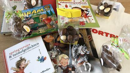 """Kortrijk schenkt paaspakketten aan 1.600 kwetsbare kinderen: """"Met én leerrijke boeken én lekkere chocolade én leuke knutselopdrachten in"""""""