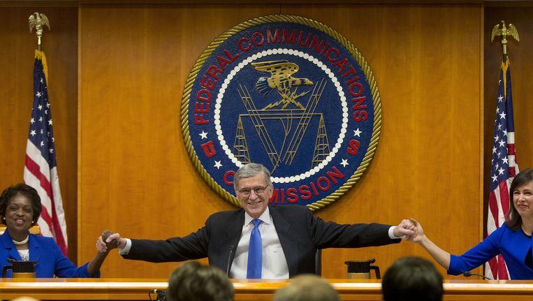 FCC-voorzitter Tom Wheeler Beeld ap