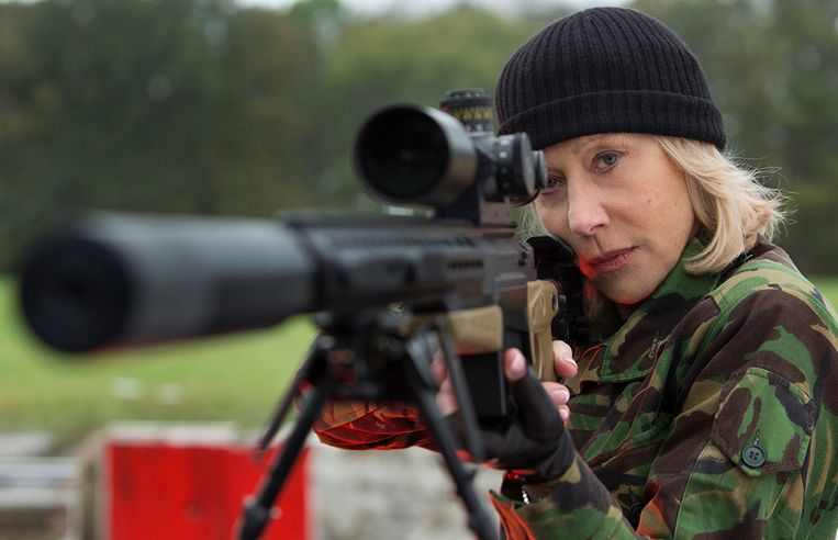 Helen Mirren in 'RED 2'. Beeld