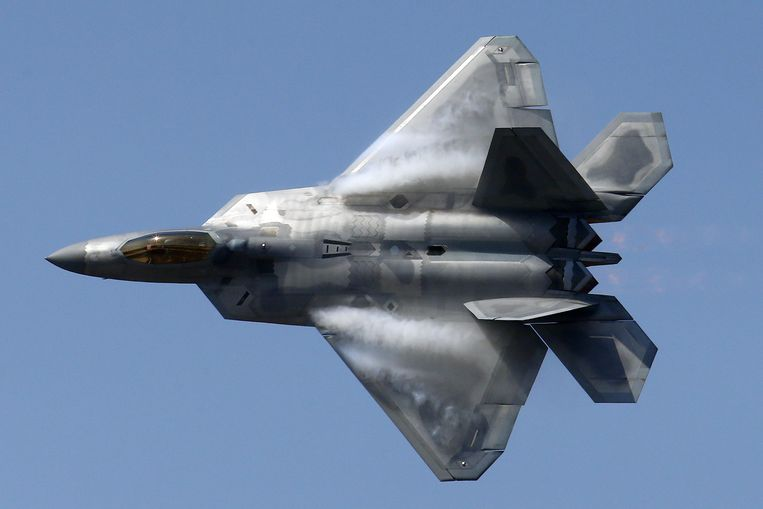 Amerikaans gevechtsvliegtuig. Beeld EPA