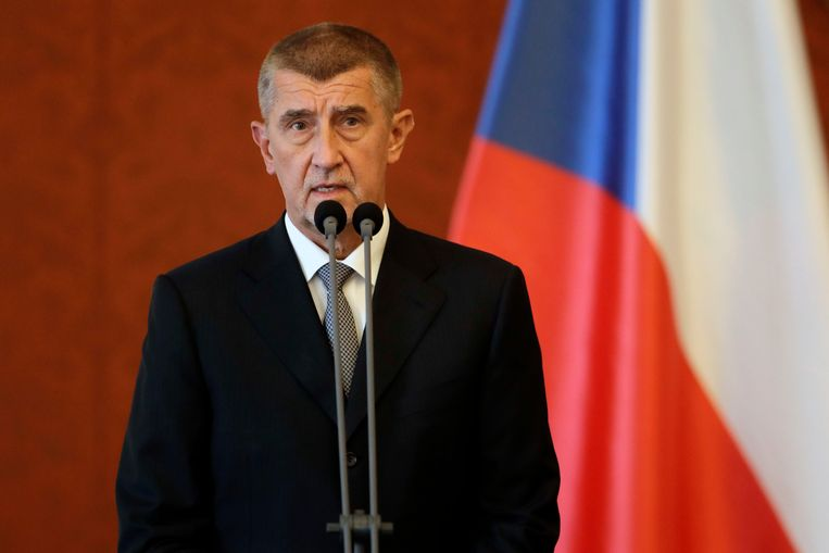Tsjechische premier Andrej Babis Beeld AP