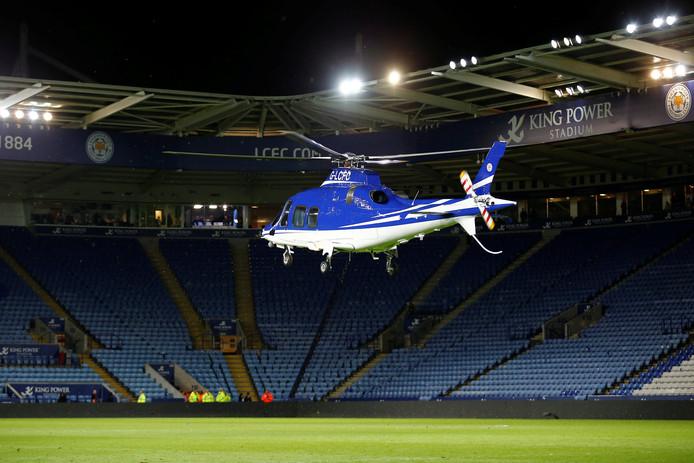 Na het 1-1-gelijkspel tegen West Ham pikte de helikopter van Srivaddhanaprabha zoals bij elke thuismatch op. Het ging echter snel mis.