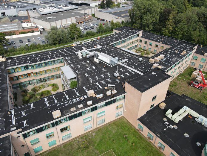Zonnepanelen op woonzorgcentrum De Vijvers in Ledeberg