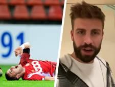 """""""Reviens plus fort, mon ami"""": le soutien de Gérard Piqué à Zinho Vanheusden"""