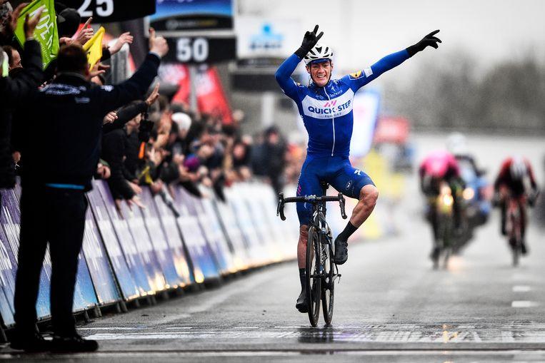 Yves Lampaert won Dwars door Vlaanderen Beeld BELGA