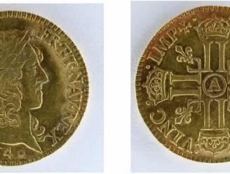 Steenhouwers vinden kist met honderden gouden munten uit tijd Lodewijk XIV