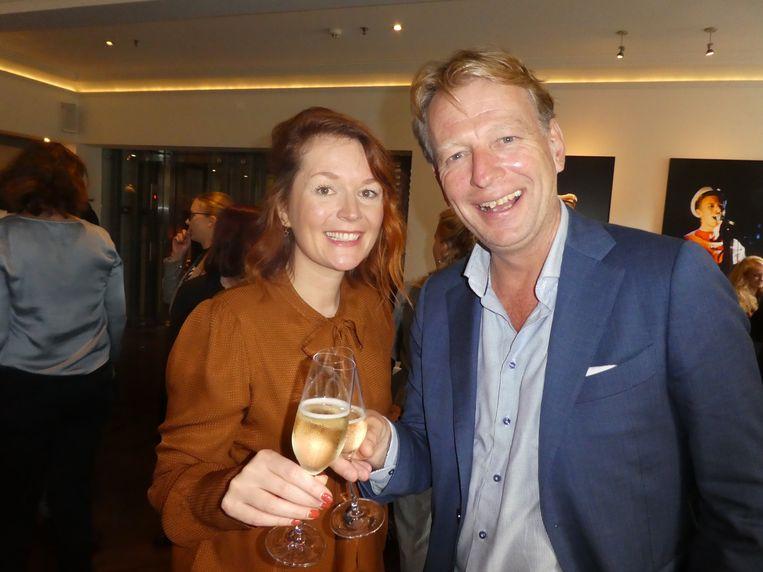 Vocal supervisor Eva Wilms en DeLaMar-directeur Andreas Fleischmann, aan de vooravond van de dolle Bowie-maanden. Beeld Hans van der Beek