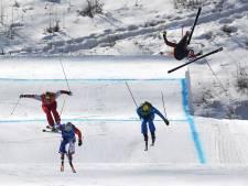 Veel crashes bij skicross, goud voor Canadees Leman