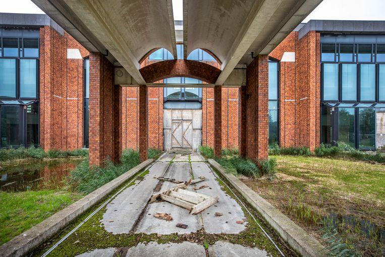 De bouw van het Scheringa Museum kostte 30 miljoen euro.  Beeld Raymond Rutting / de Volkskrant