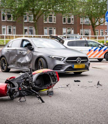 Automobilist onder invloed aangehouden na ernstig ongeluk met scooterrijder in Rotterdam-Zuid