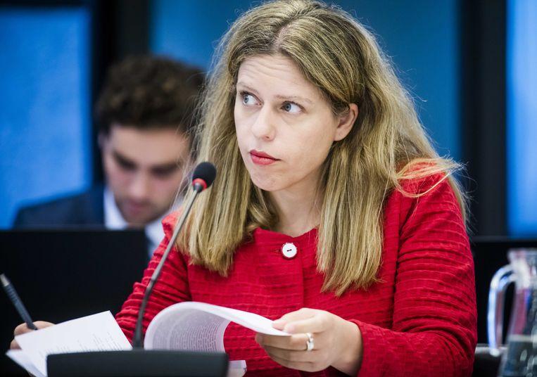 Minister Carola Schouten van Landbouw, Natuur en Voedselkwaliteit.  Beeld null