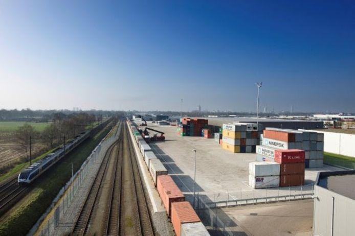 Zo zou de railterminal eruit kunnen zien.