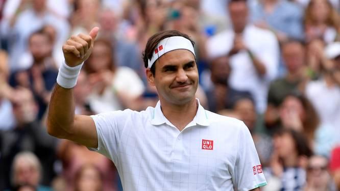 Federer verslaat Britse hoop en plaatst zich voor vierde ronde