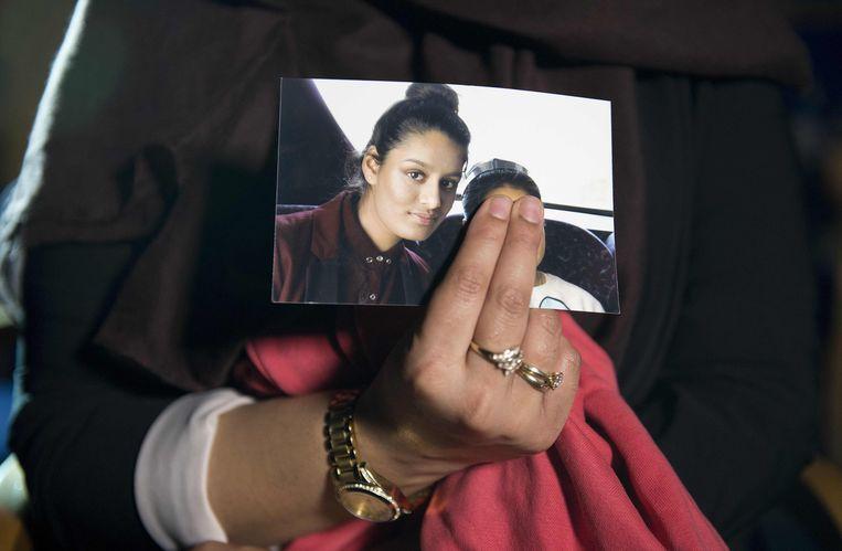 De Britse Syriëganger Shamima Begum. Beeld AFP