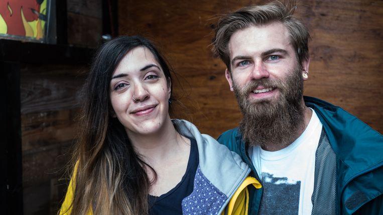 Violet en Dave. Beeld RV