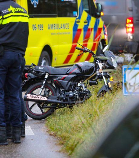 Brommertocht eindigt met ambulancerit voor man in Apeldoorn