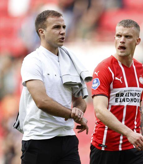 PSV mist Götze tegen Go Ahead Eagles: 'Daarom wisselde ik hem ook'