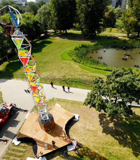 Veel interesse voor energietoren Technische Universiteit Eindhoven