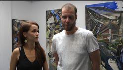 VIDEO: Actrice Lynn Van Royen en vriend Gilles Van Schuylenbergh openen vrijdag samen een kunstgalerij, wij mochten al eens gaan kijken