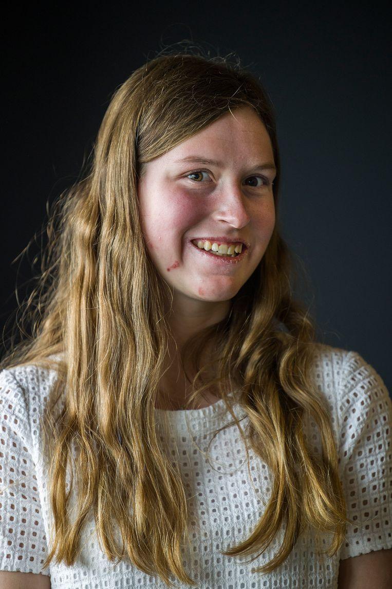 Alyssa Fricke (17) Beeld Arie Kievit