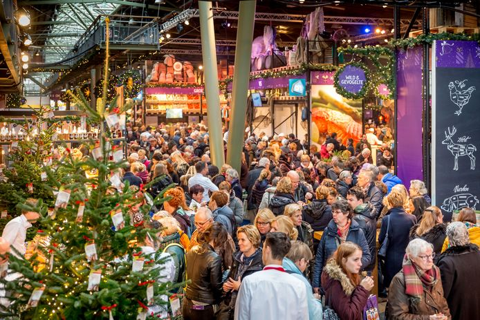 Het Allerhande Kerstfestival bij het Spoorwegmuseum.