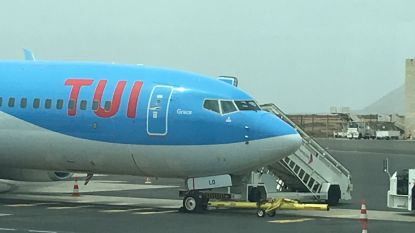Vliegtuig van TUI fly blijft in Kaapverdië aan de grond omwille van birdstrike