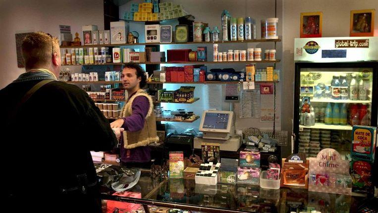 Smartshops verkopen de triptruffels Beeld anp
