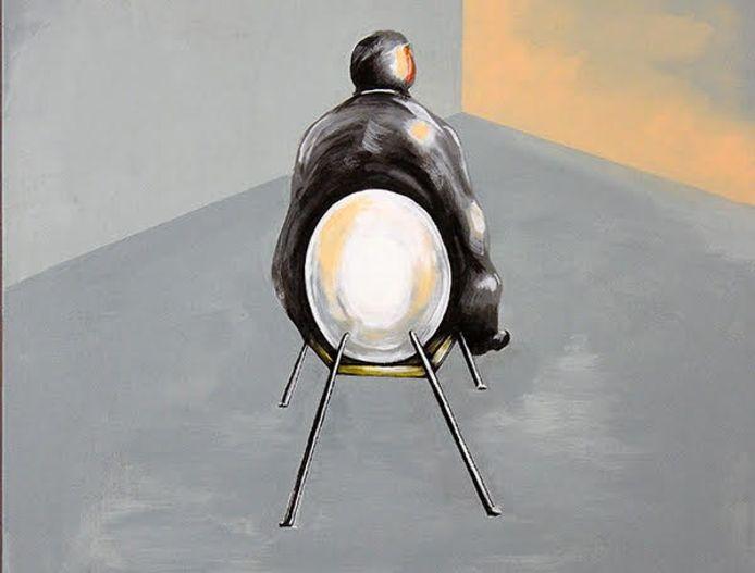 De laatste expositie in de Rock Gallery, genaamd 'Pandemonium', van de Haagse kunstenaar Dik Walraven is tot 13 juni te zien.