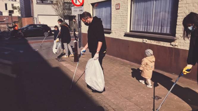 Zwerfvuilzakken blijven toch beschikbaar bij de stad Aalst