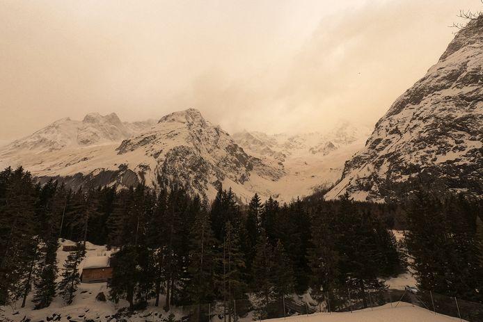 Val Ferret, Zwitserland.
