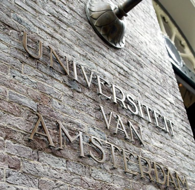 De UvA wil in de hele universiteit een aantal veranderingen doorvoeren. Een van de maatregelen is bijvoorbeeld dat de indeling van het studiejaar bij alle opleidingen hetzelfde wordt. Foto ANP Beeld