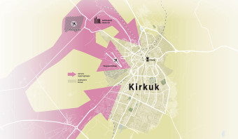 De ellende in Kirkuk begon met de vondst van olie