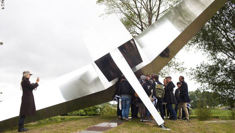 Impressies van de drie forten die deelnemen aan de kunstmanifestatie Gimme Shelter. Beeld Renate Beense