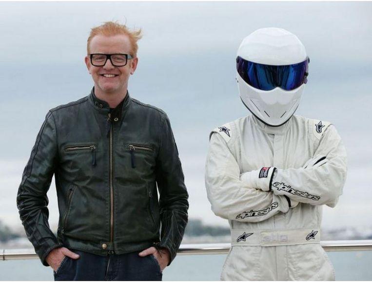 Op de tv-beurs in Cannes poseerde nieuwe presentator Chris Evans met The Stig, wat laat vermoeden dat die weer van de partij zal zijn.