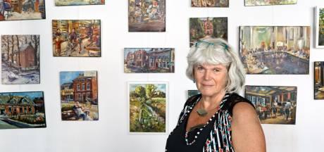 Mieke van Zundert maakt kunst van koningspaar voor Zundertse raadzaal