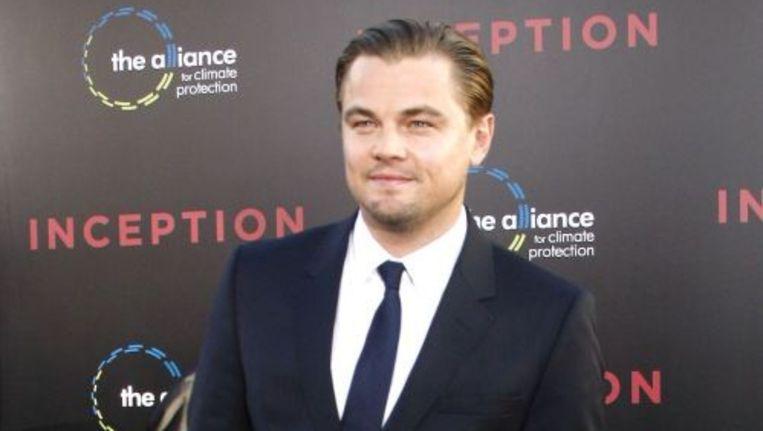 Leonardo DiCaprio speelt de hoofdrol in Inception. EPA Beeld