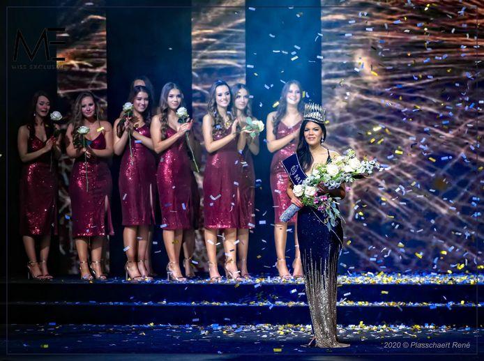 Kimbery Bosman wint Miss Exclusive