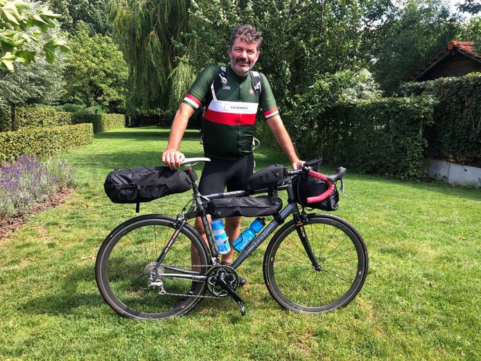 Noël vertrekt zaterdag voor een tochtje langs de Maas van liefst 950 kilometer.