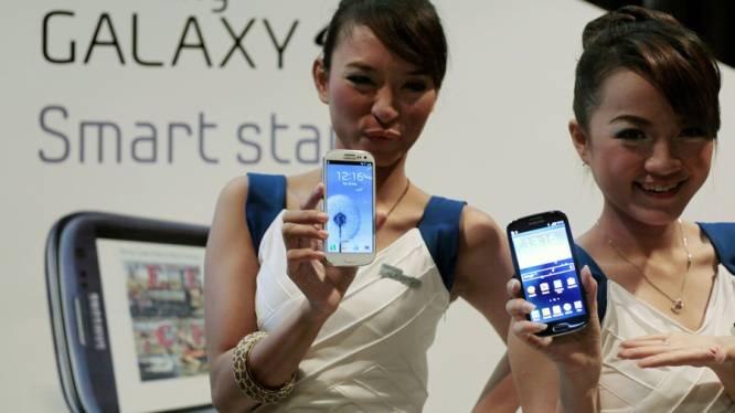 Galaxy S III voorlopig alleen in het wit